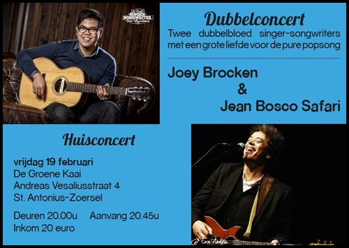 Joey Brocken en Jean Bosco Safari 19-02-2016 de groene kaai 500